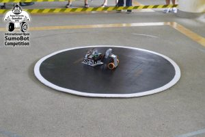 Autonomous SumoBot Match - click to enlarge