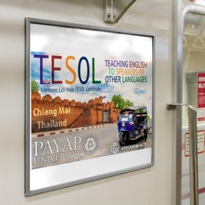 TESOL Certificate poster