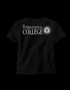 International College logo and T-shirt design