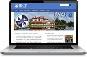 Institute of Religion Culture and Peace website design