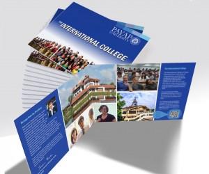 International College multi-page brochure