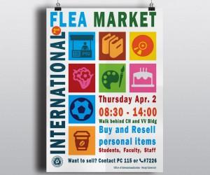 International Flea Market Poster